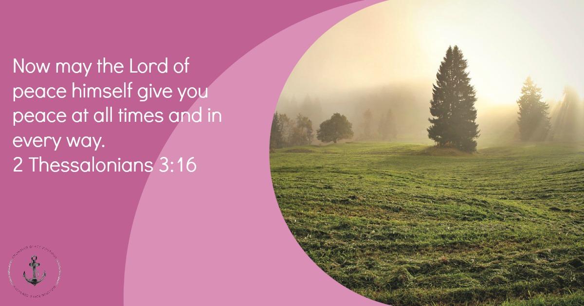 2 Thessalonians 3:16