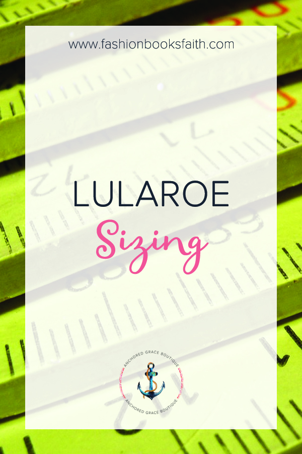 LuLaRoe Sizing