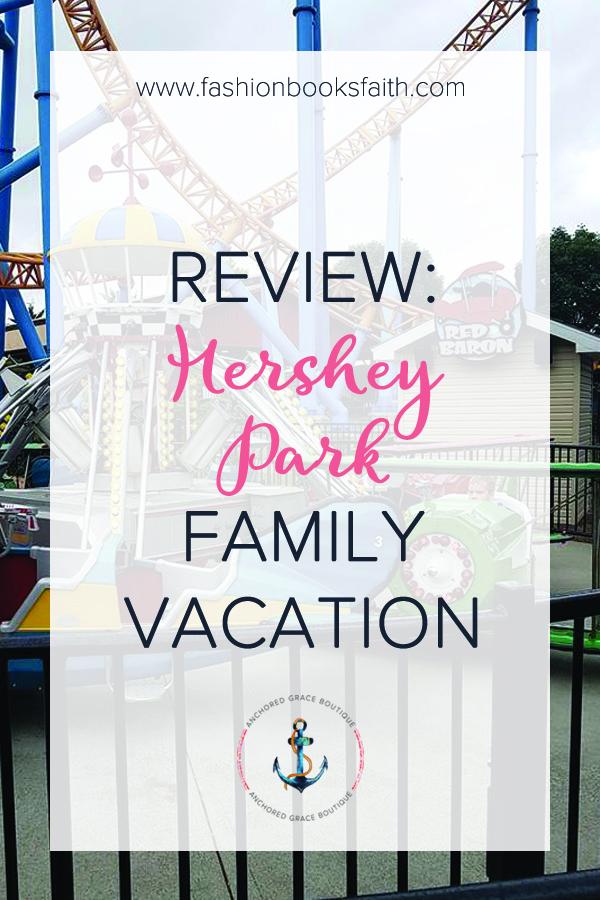 Hershey Park Family Vacation