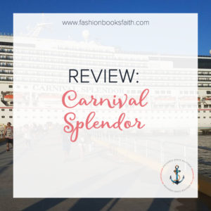 Review: Carnival Splendor