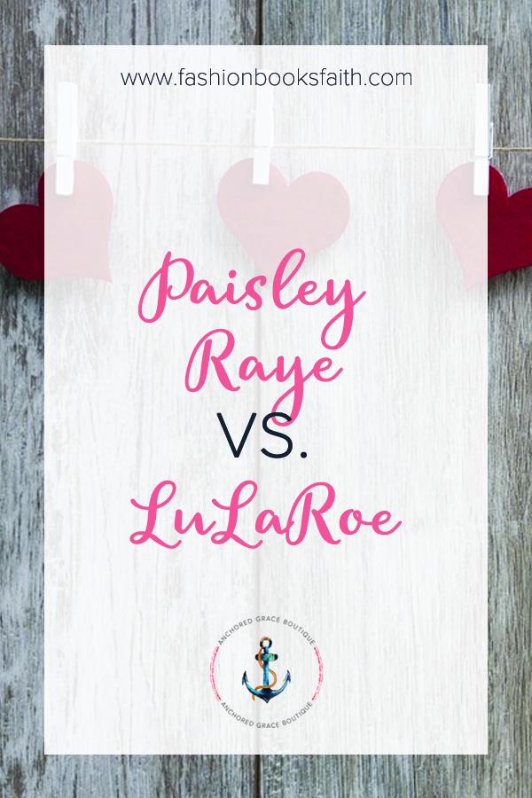Paisley Raye vs. LuLaRoe