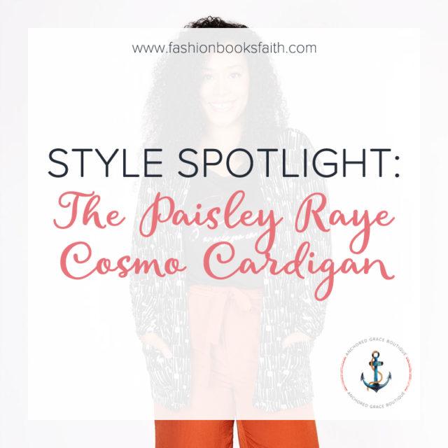 Style Spotlight: Cosmo Cardigan
